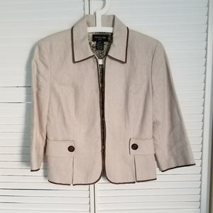 Focus 2000 cotton blend short jacket